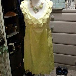 Calypso St. Barth Yellow Dress